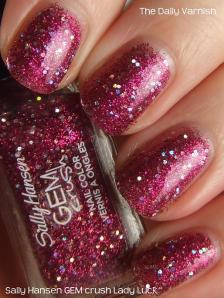 Sally Hansen GEM crush Lady Luck