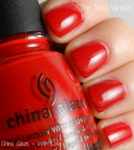 China Glaze - With Love