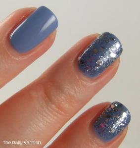 Essie Lapis of Luxury deborah lippmann Today Was a Fairytale MACRO