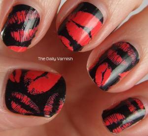 OMG Nail Strips Pink Kisses 2