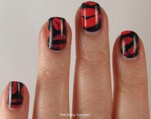 OMG Nail Strips Pink Kisses 3