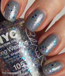 OPI I Don't Give a Rotterdamn NYC Starry Silver 2