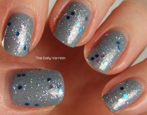 OPI I Don't Give a Rotterdamn NYC Starry Silver MACRO