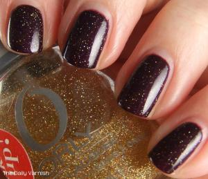 OPI Lincoln Park at Midnight Orly Prisma Gloss Gold 4