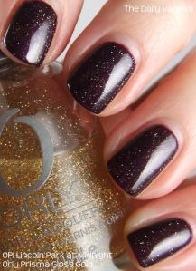 OPI Lincoln Park at Midnight Orly Prisma Gloss Gold