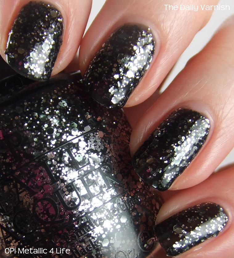 Opi Metallic 4 Life The Daily Varnish