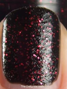 OPI Stay the Night layered 2