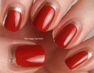 San Francisco 49ers Manicure 2