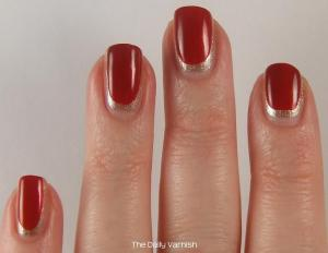San Francisco 49ers Manicure 3