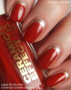 San Francisco 49ers Manicure