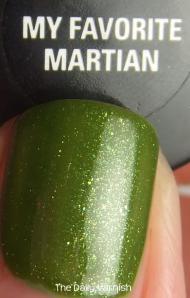 SinfulColors Beau Khaki Confetti My Favorite Martian MACRO
