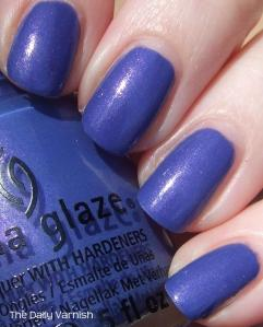 China Glaze Fancy Pants sunlight 2