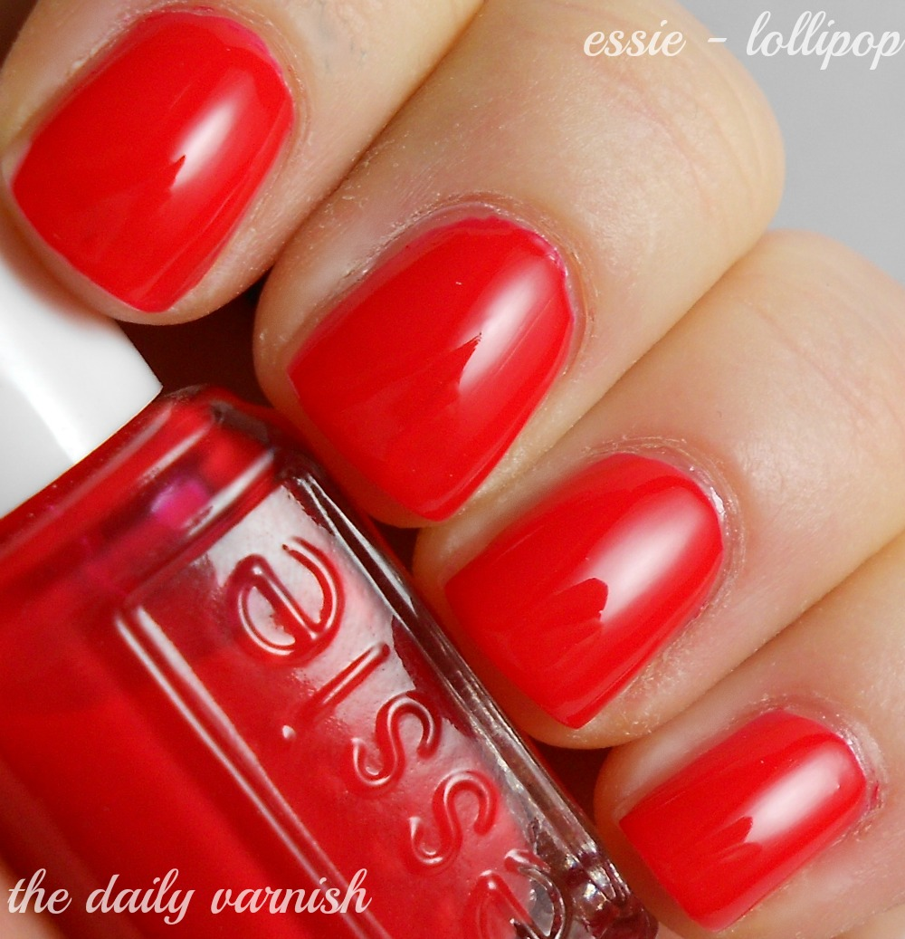 Go Red For Women 2013: Essie Lollipop – The Daily Varnish