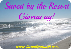 Giveaway - Resort header