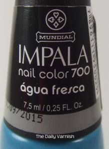 Impala Agua Fresca label