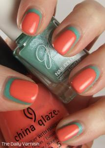 JulieG Shark's Cove China Glaze Mimosa's Before Mani's 3