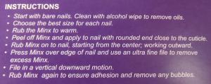 Minx Instructions