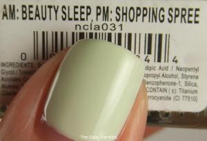 NCLA AM Beauty Sleep, PM Shopping Spree MACRO 2