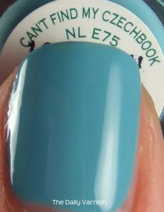 OPI Can't Find My Czechbook MACRO 2
