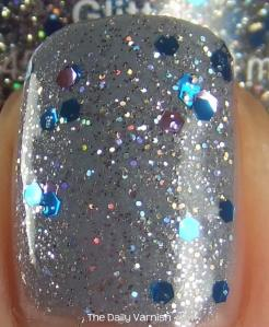 Orly Pixie Dust NYC Starry Silver MACRO