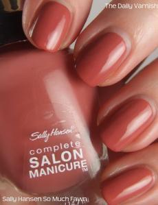 Sally Hansen Complete Salon Manicure So Much Fawn