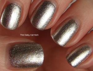 wet n wild Fergie nail color Going Platinum 2
