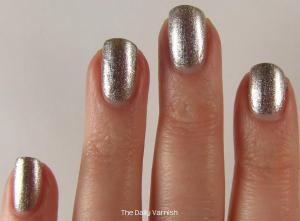 wet n wild Fergie nail color Going Platinum 3