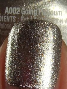 wet n wild Fergie nail color Going Platinum MACRO 2
