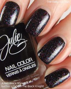 butter LONDON The Black Knight over JulieG Black Sheep 2