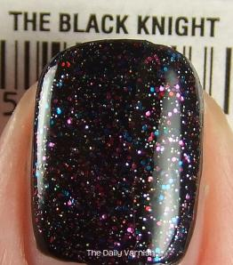 butter LONDON The Black Knight over JulieG Black Sheep MACRO 2