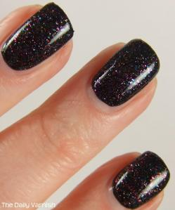 butter LONDON The Black Knight over JulieG Black Sheep MACRO