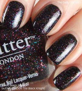butter LONDON The Black Knight over JulieG Black Sheep