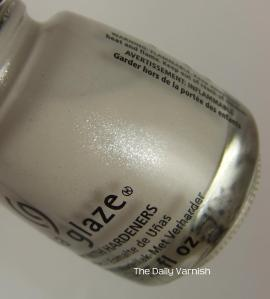 China Glaze Dany Lyin' Around bottle 2