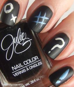 DIY Chalkboard Nails 2