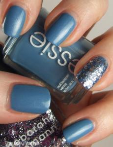 Essie Coat Azure Deborah Lippmann Today was a Fairytale 2