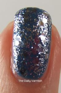 Essie Coat Azure Deborah Lippmann Today was a Fairytale MACRO 2