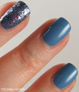 Essie Coat Azure Deborah Lippmann Today was a Fairytale MACRO