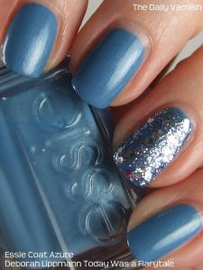 Essie Coat Azure Deborah Lippmann Today was a Fairytale