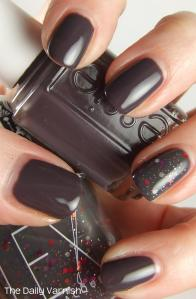 Lex Cosmetics Dying Embers Essie Smokin' Hot 4