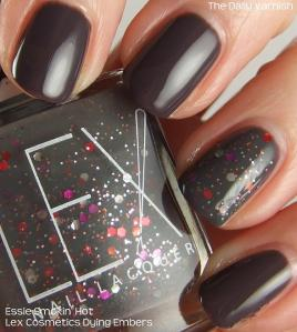 Lex Cosmetics Dying Embers Essie Smokin' Hot