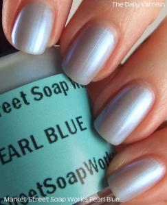 Market Street Soap Works Pearl Blue