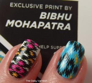 NCLA Nail Wraps NCLA X Glamour Bibhu Mohapatra MACRO 2