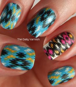 NCLA Nail Wraps NCLA X Glamour Bibhu Mohapatra no top coat