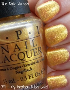 OPI - Oy-Another Polish Joke (natural light)