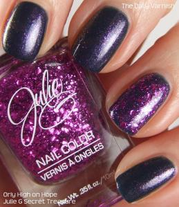 Orly High on Hope Julie G Secret Treasure 3
