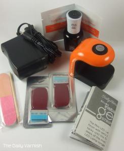 Sally Hansen Insta-Gel Strips Starter Kit contents 2