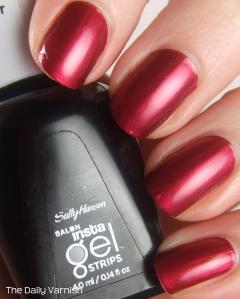 Sally Hansen Insta-Gel Strips Wine Not