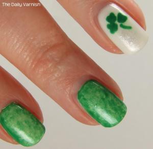 St Patrick's Day Mani 2013 MACRO