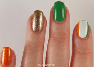 St Patrick's Day Manicure 2013 3