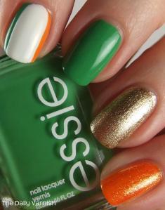 St Patrick's Day Manicure 2013